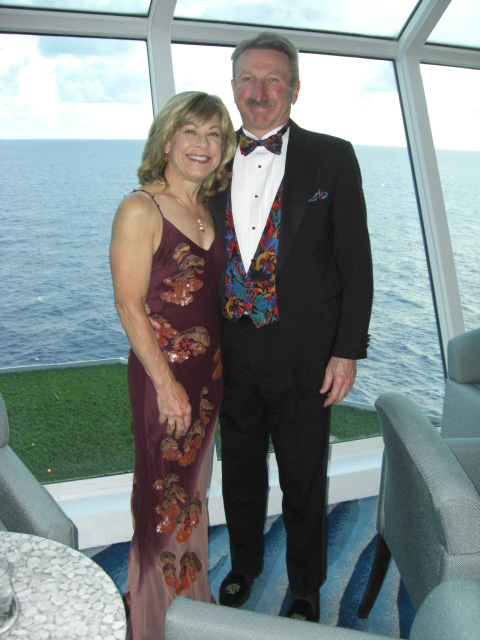 Mike and Patti on Cruise